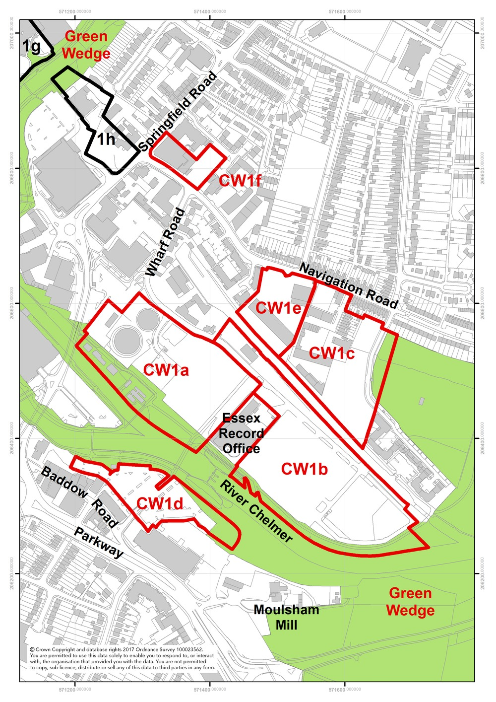 Chelmsford City Council Local Plan Preferred Options Document