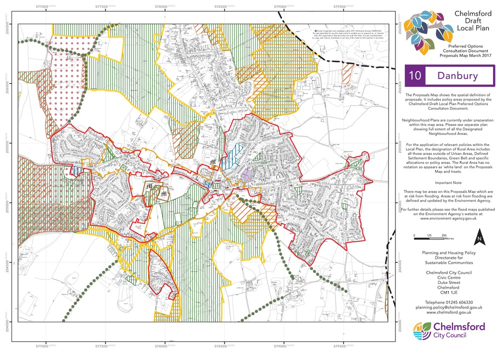 Chelmsford City Council Local Plan Preferred Options Document 11