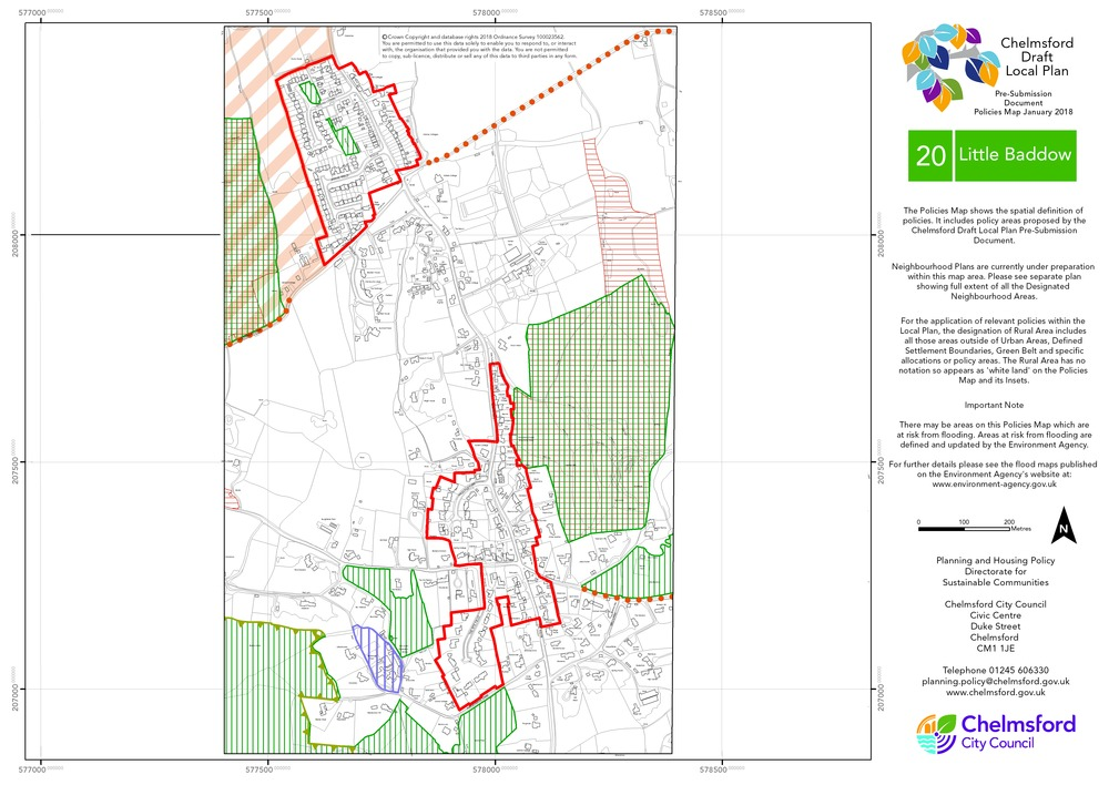 Chelmsford City Council - Pre-Submission Local Plan Document